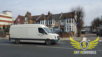 Fast van removals in London